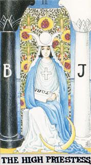 02The-High-Priestess