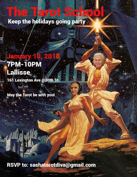 """Wrapping Up The Year With The Tarot School's """"Keep The"""